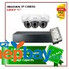 3 Hikvision IP Camera Set Set Package C