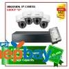 4 Hikvision IP Camera Set Package D