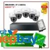 5 Hikvision  IP Camera Set Package E
