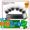 6 Hikvision IP Camera Set Package F