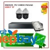 2 Hikvision PTZ Camera Set Package B