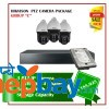 3 Hikvision PTZ Camera Set Package C