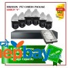 6 Hikvision PTZ Camera Set Package F
