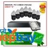 7 Hikvision PTZ Camera Set Package G