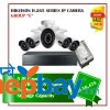 5 Hikvision H.265 Series Camera Set Package E