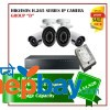 4 Hikvision H.265 Series Camera Set Package D