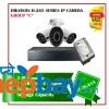 3 Hikvision H.265 Series Camera Set Package C