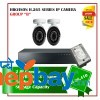 2 Hikvision H.265 Series  Camera Set Package B