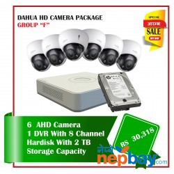 "Dahua AHD CCTV Camera Package ""F"""