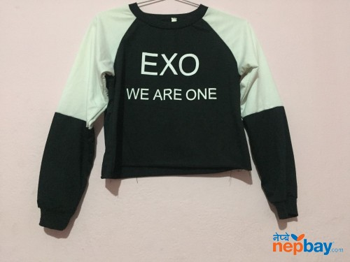 Exo unofficial crop top merch
