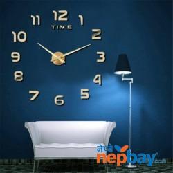 M.Sparkling 3D Wall Clock Modern Design Home Decor