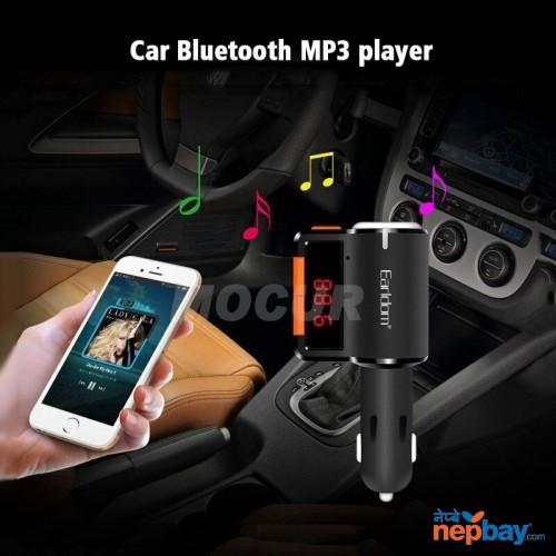 EARLDOM BLUETOOTH CAR CHARGER 2 USB ET-M10