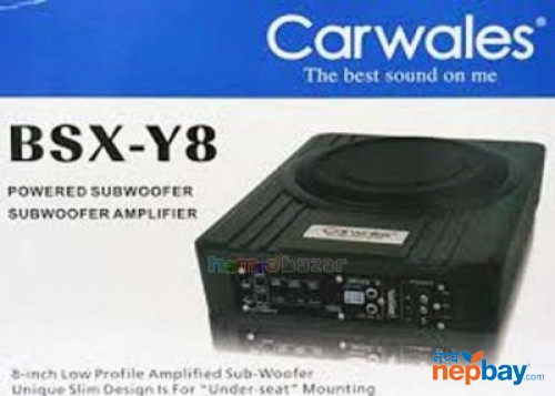Bsx-y8 Car Wales Subwoofer Amplifier