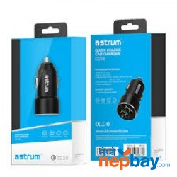 Astrum CC300 Quick Charge Dual USB Car 2.4A Charge