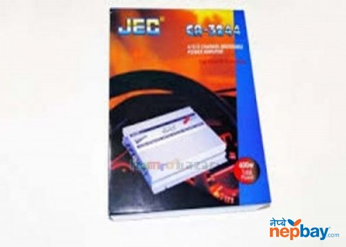 Jec Ca-3244, 400watts 4channel Car Amplifier