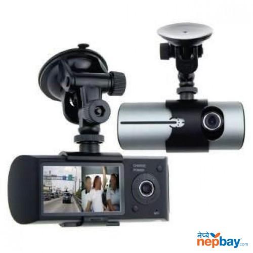 AWOLF 2.7″ DUAL LENS DASH CAM CAR DVR VEHICLE CAMERA VIDEO RECORDER CAR CAMERA WITH GPS MODULE G-SENSOR