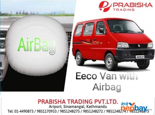 New Suzuki Eeco Van With Airbag (Brand New) Showroom Prabisha Trading 014490873 / 9851170933