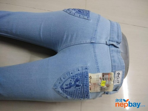 Girl's Denim Jeans