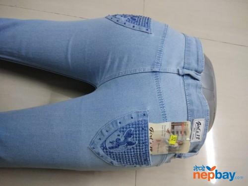 Girl's Denim Jeans