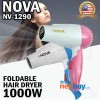 Nova Foldable Mini Hair Dryer 1000W NV-1290