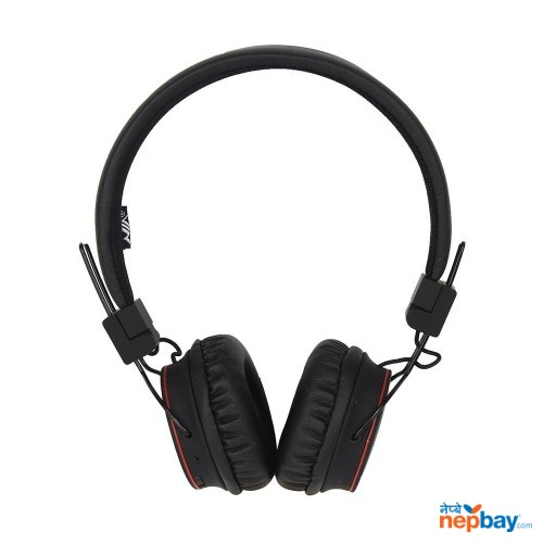 NIA-X2 Wireless Solid Bass Headphone - Black