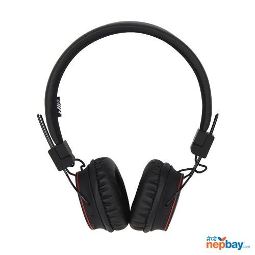 NIA-X2 Wireless Solid Bass Headphone - Black