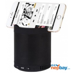 Kisonli Q3 Portable Bluetooth Speaker- Black
