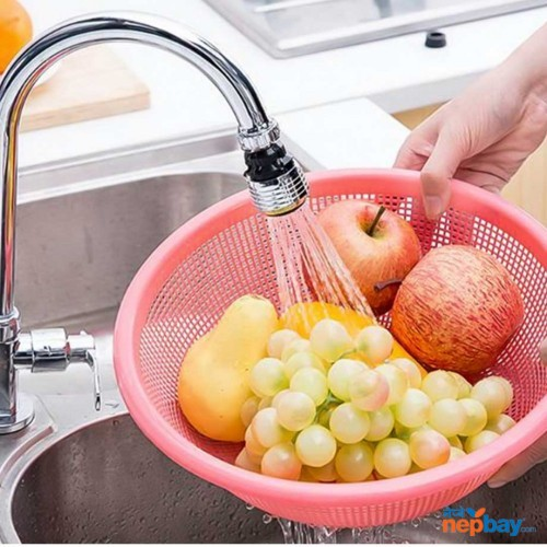 Water Saving Tap 360 Rotating Swivel Faucet Nozzle Filter Adapter Water Saving Tap Aerator Diffuser