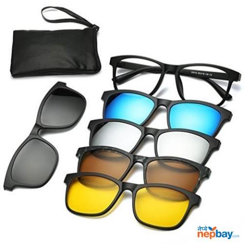 5 in 1 Magnetic Glasses