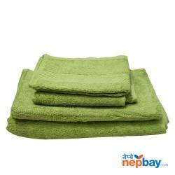 4 Piece Bath Towel Set - 4 Different Size