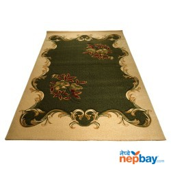 Decorative Flower Large Floor Rug For Living Room - 180cm x 270cm