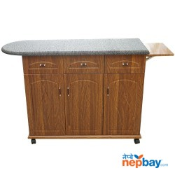 "Wooden High Quality Multipurpose Iron Desk 50"" x 13"" x 31"""
