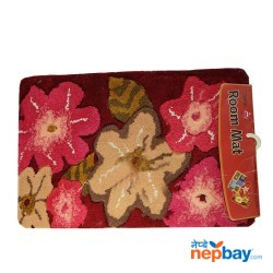 "Extra Absorb Luxury Feel Washable Floral Doormat 30"" x 20"""