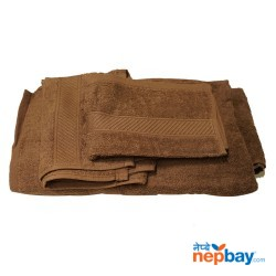 4 Piece Bath Towel Set - 4 Different Size