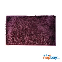 "Purple Extra Absorb Luxury Feel Washable Bathroom Mat 31"" x 19"""