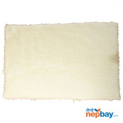 "Full White Soft Extra Absorb Doormat 25"" x 16"""