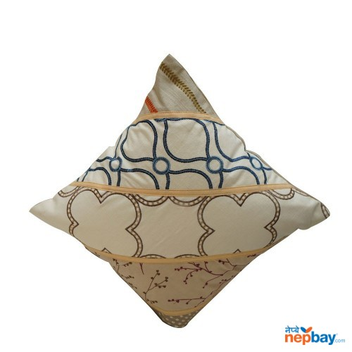"16"" x 16"" Different Pattern Designer Cushion Cover 5 Pcs"