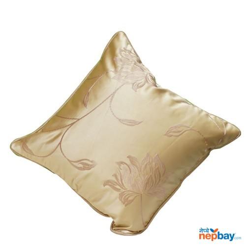 "16"" x 16"" Beige Golden Cream Decorative Cushion Cover 5 Pcs"