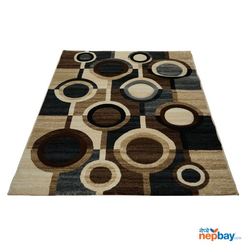 "Multicolor Designed Rectangular Floor Rug 60"" x 90"""