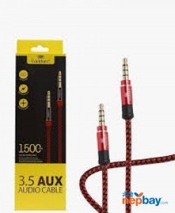 EARLDOM AUX04 AUDIO CABLE 3.5MM BRAIDED STEREO AUX CABLE