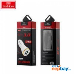 Quick Charge 3.0] Earldom ES-KC2 2 Port Car Charger