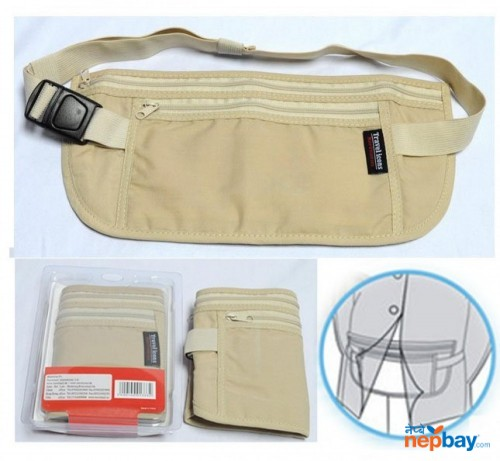 Travel Gear Hidden Money Pouch