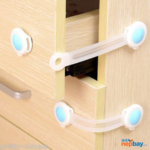 3 pcs Baby Kids Box Drawer Cupboard Cabinet Wardrobe Door Fridge Safe Safety Lock