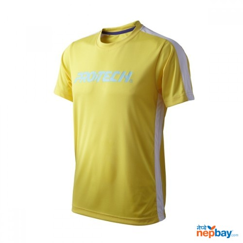 PROTECH RNZ011(YELLOW ) SPORTS T-SHIRT FOR MAN AND WOMEN