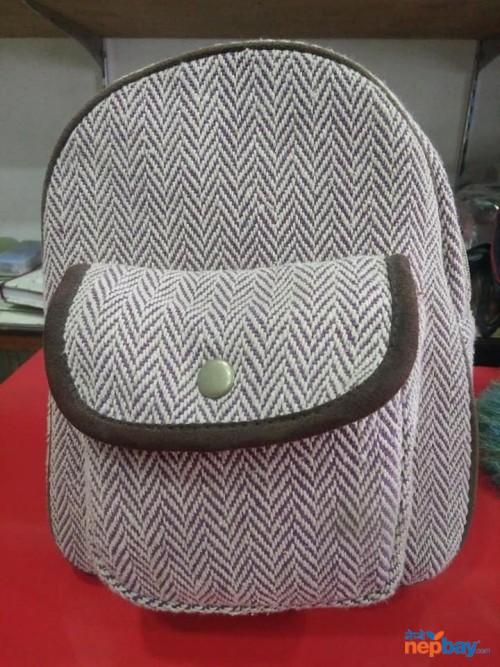 Made in Nepal hemp bag