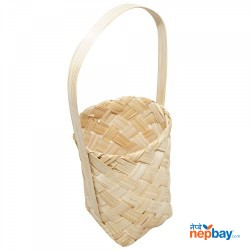 Beth Small Flower Basket With Handle