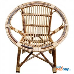 Beth Round Baby Chair