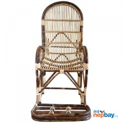 Beth Rocking Chair - Wooden Brown