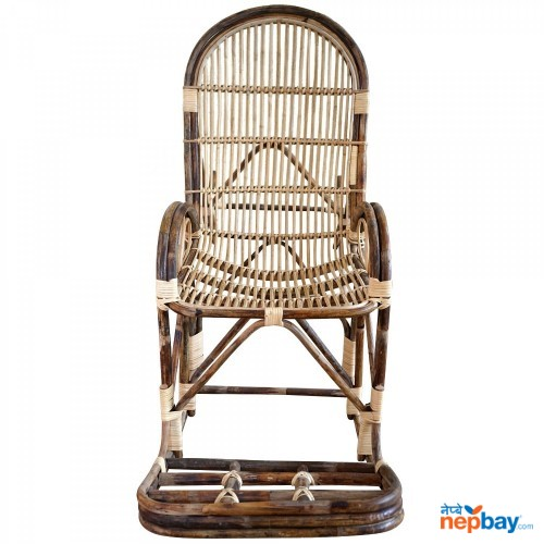 Beth Rocking Chair - Wooden Brown