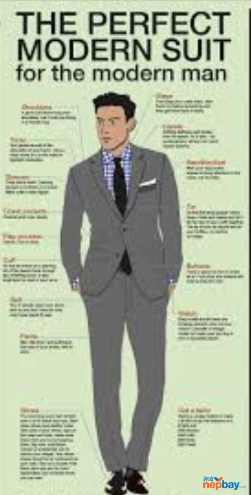 College coat pant shirt tie and monogram
